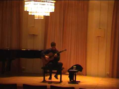 Jerome Mouffe performs La Cumparsita - Live