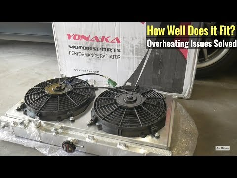 Yonaka radiator review & fitment (88-91 civic crx install with fan shroud) mp3