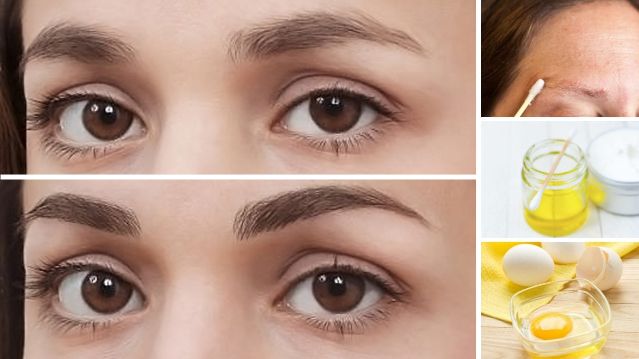 How To Grow Thick Eyebrows Naturally Youtube