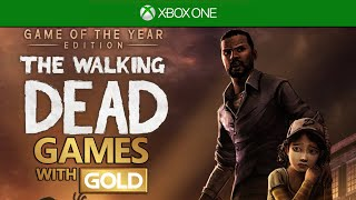 The Walking Dead Season 1 - Free Game With Gold (xone/x360)