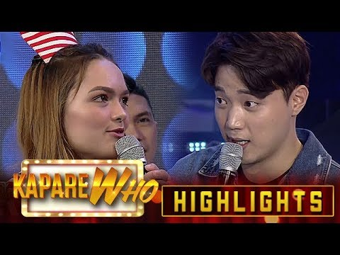 Ryan asks Stephen if she's just making him fall for her | It's Showtime KapareWho
