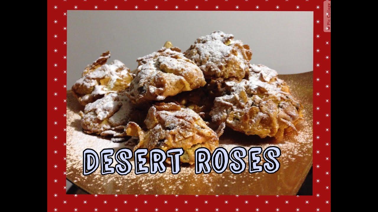 Desert Roses Cookies Christmas Cookies Recipe Eng