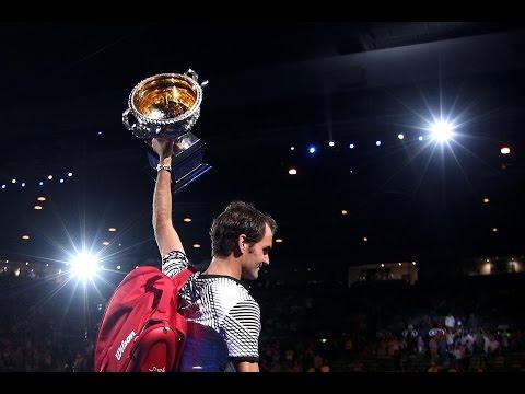 Roger Federer Australian Open 2017 Title Tribute!! 18 GRAND SLAM TITLES!!!!