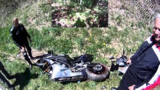 Cherohala Skyway R6 Crash / Test my frame Slider