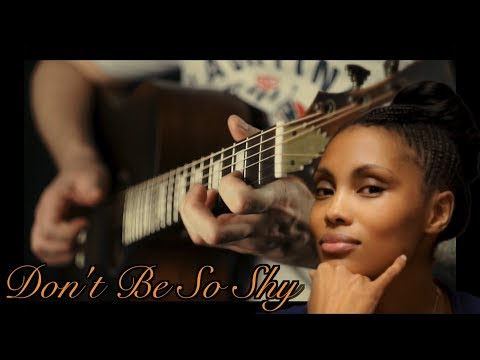 Imany - Don't Be So Shy (acoustic Guitar Cover)