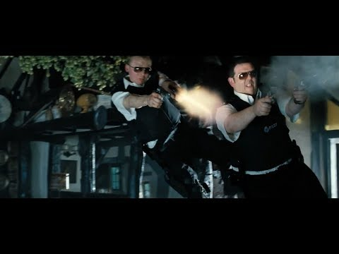 Hot Fuzz - Final Battle Scene (Bar Shootout | Part Three)