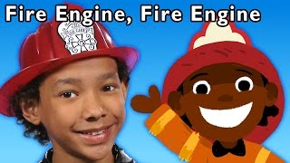 fire engine fire engine and more   baby songs from mother goose club