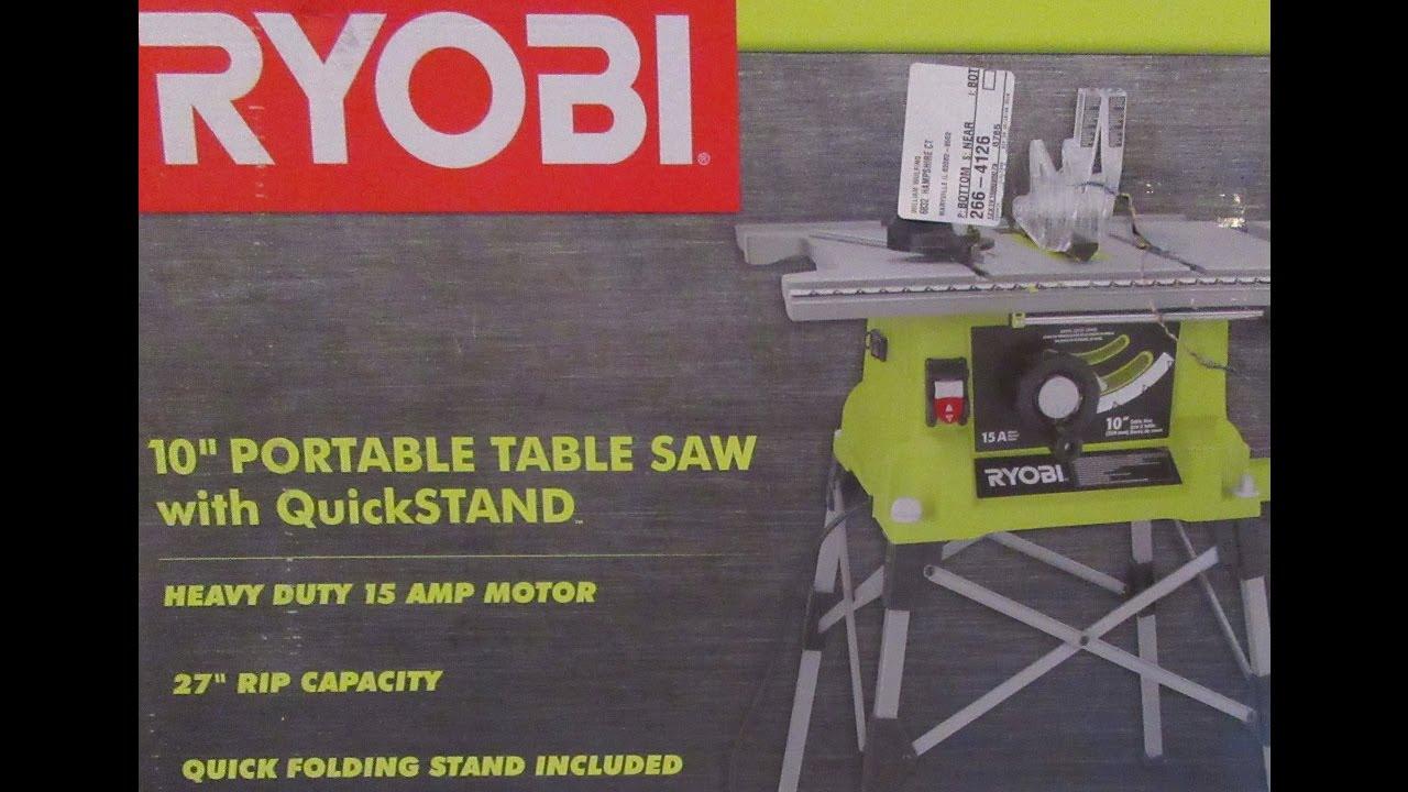 Ryobi 10 table saw unboxingsetup rts21g youtube ryobi 10 table saw unboxingsetup rts21g greentooth Image collections