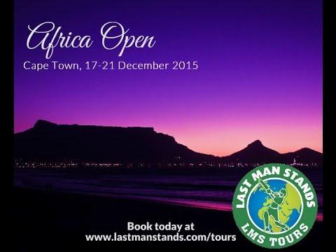 Africa Open 17-21 December 2015 Cape Town