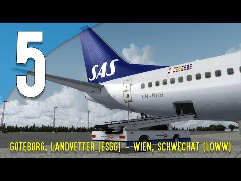 [IVAO] Prepar3D | City-Hopping igenom Europa #05 | ESGG - LOWW