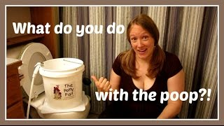 Cloth Diapers...What Do You Do With The Poop?!  |  Potty Pail Review