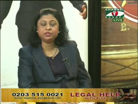 Legal Help with Piya 1 February 2014, P1