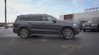 Закрытый показ автомобиля. Mercedes-Benz GL-Класс II (X166).Обзор автомобиля. Первый розыгрыш.