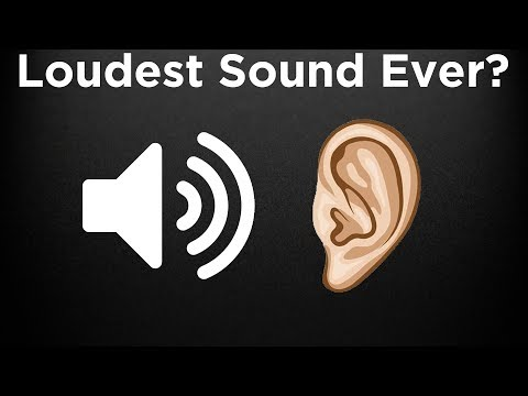 Thumbnail: What is the LOUDEST Sound Ever Heard?