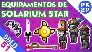 Solarium e Armaduras+Armas de Último Tier ► Starbound #51