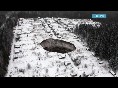 Sinkhole, Flooding Impact Russian Potash Mine - Weather.com