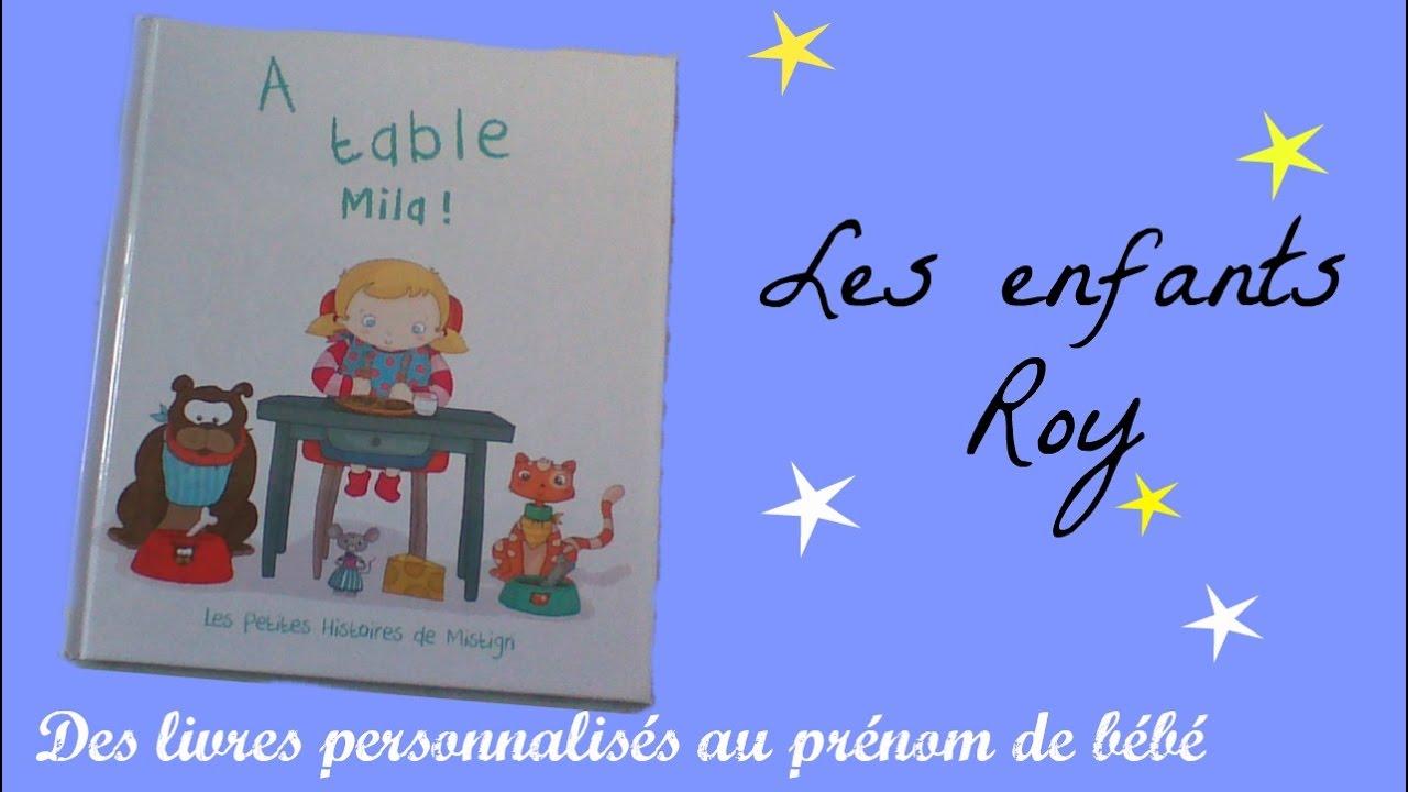 Un Livre Personnalise Pour Bebe