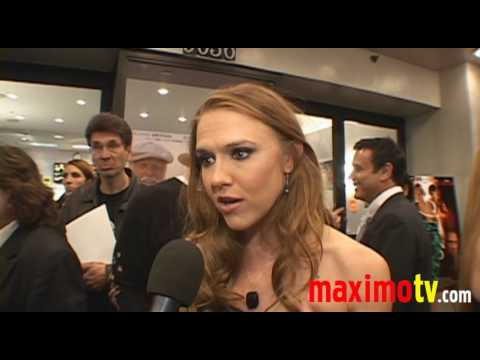 DOMINIQUE SWAIN on DAVID CARRADINE at 'FALL DOWN DEAD' Premiere