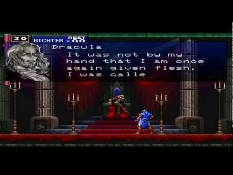 castlevania symphony of the night how to get to dracula