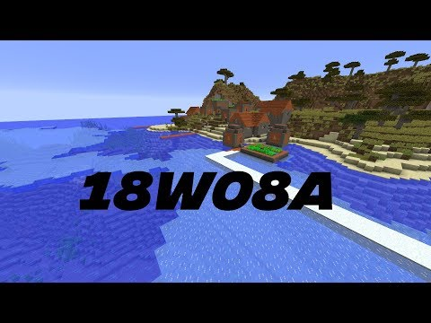 Minecraft News: 18w08a New Ocean Biomes / Underwater Ravines