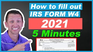 How to fill oขt IRS Form W4 2021 Fast