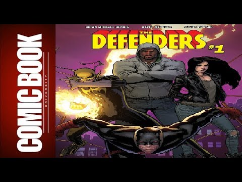 Defenders #1 | COMIC BOOK UNIVERSITY