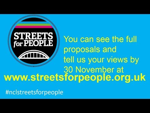 Streets for People - have your say by 30 November