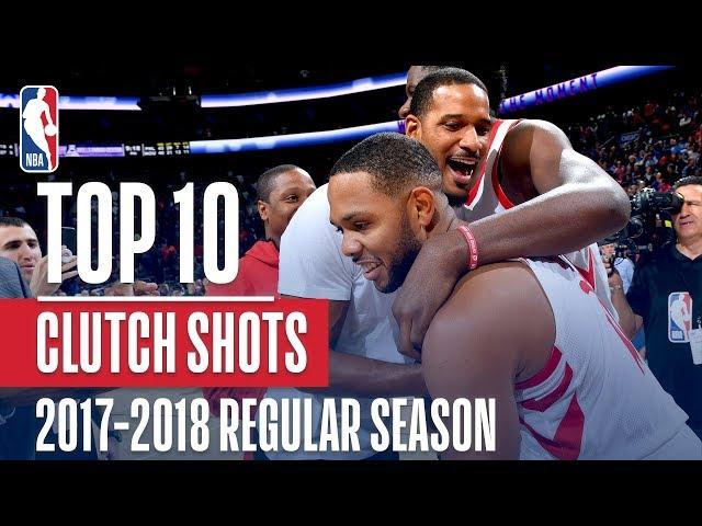 Top 10 Clutch Shots of the 2018 NBA Regular Season