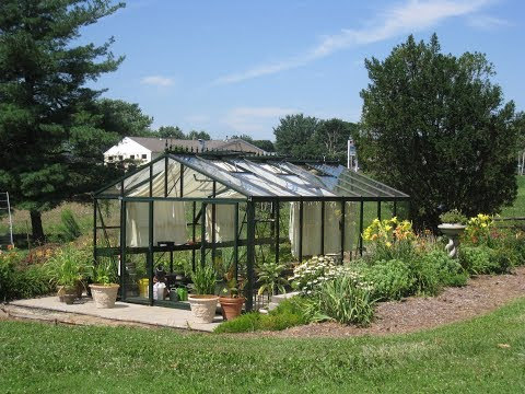Exaco Royal Victorian Greenhouse Assembly