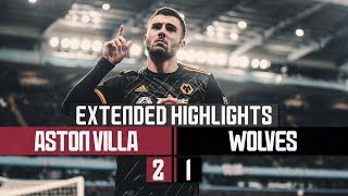 Cutrone on target in cup defeat | Aston Villa 2-1 Wolves | Extended Highlights