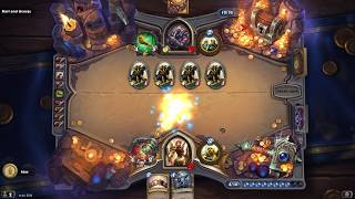 Now thats a charge minion Hearthstone Dungeon Run.