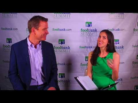 #FoodTank Summit 2017 Backstage - Bruce Friedrich, The Good Food Institute
