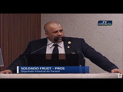 Deputado Soldado Fruet - Sessão Plenária 25 06 2019