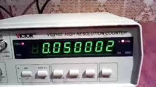 Сравнительный тест и обзор частотомера VC 3165
