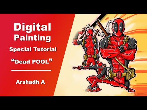 LEARN DIGITAL ART AND SKETCHING | CREATIVE | INTERACTIVE  | EP-1 | BY ARSHADH thumbnail