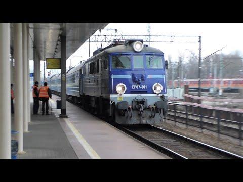Kiev Express na głównym i szynobus z Lubartowa