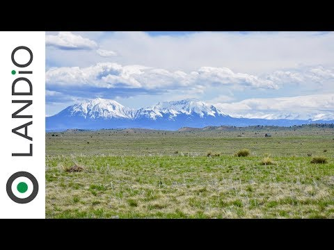 Land For Sale : 36 Acres with Mountain Views near Utilities, River & Canyon in Southern Colorado