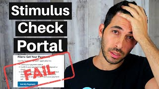Stimulus Updates 4/15: IRS Direct Deposit Portal Doesn't Work 😡