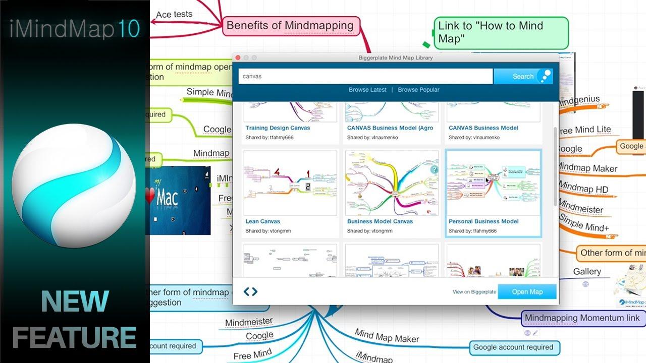 imindmap 10 mind map library integration youtube - I Mindmap