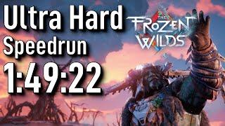 Horizon Zero Dawn Speedrun: TFW Any% Ultra Hard in 1:49:22 - World Record