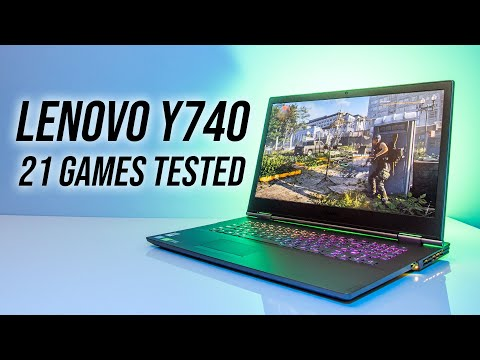 Lenovo Y740 Gaming Laptop Benchmarks - 21 Games Tested!