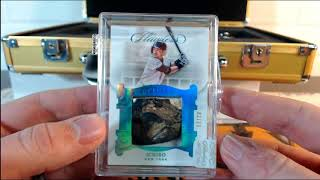 2018 Panini Flawless Baseball Case Break #4 CLEATS & 1/1!