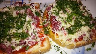 Пицца за 5 минут МИНИ ПИЦЦА Быстрая пицца Мужская еда Быстрая еда Простые рецепты еда под пиво