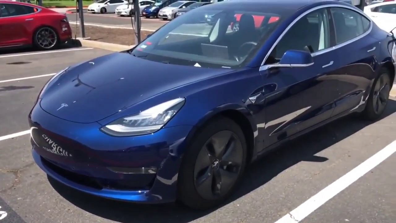 Tesla Model 3 Colors