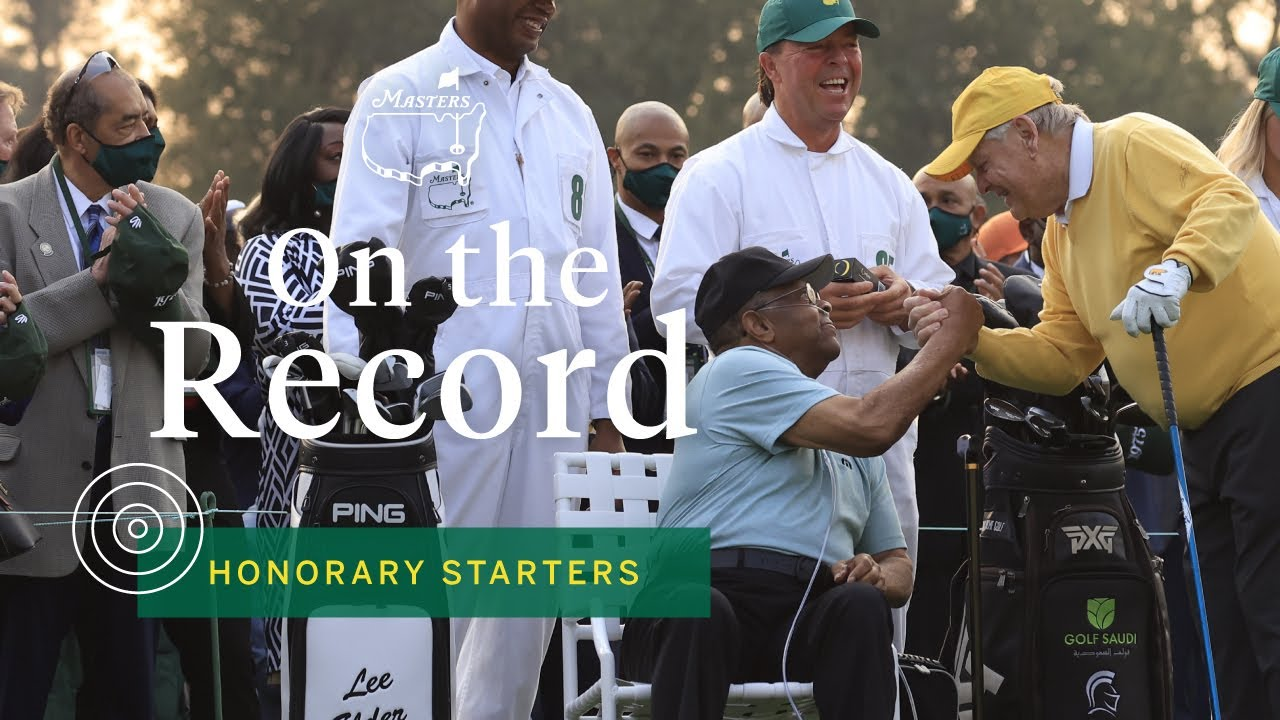 Golf: New honorary starter Elder joins Nicklaus, Player at Masters