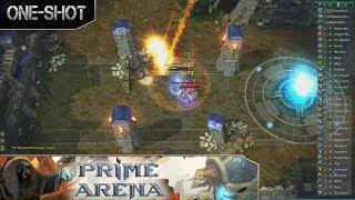 Prime Arena - Fantasy MOBA - One Shot - Let's Play Prime Arena