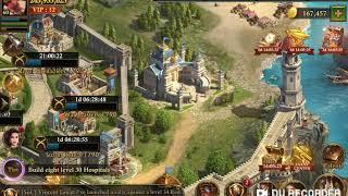 Guns of Glory: Muskteer's Fort troop formation