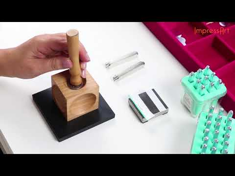 ImpressArt Tutorials | Wooden dapping block