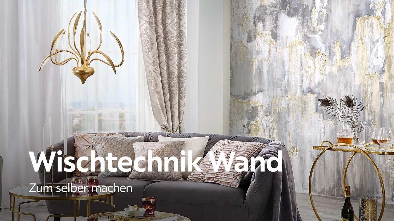 Wischtechnik Für Wände   Wand Malen Ideen