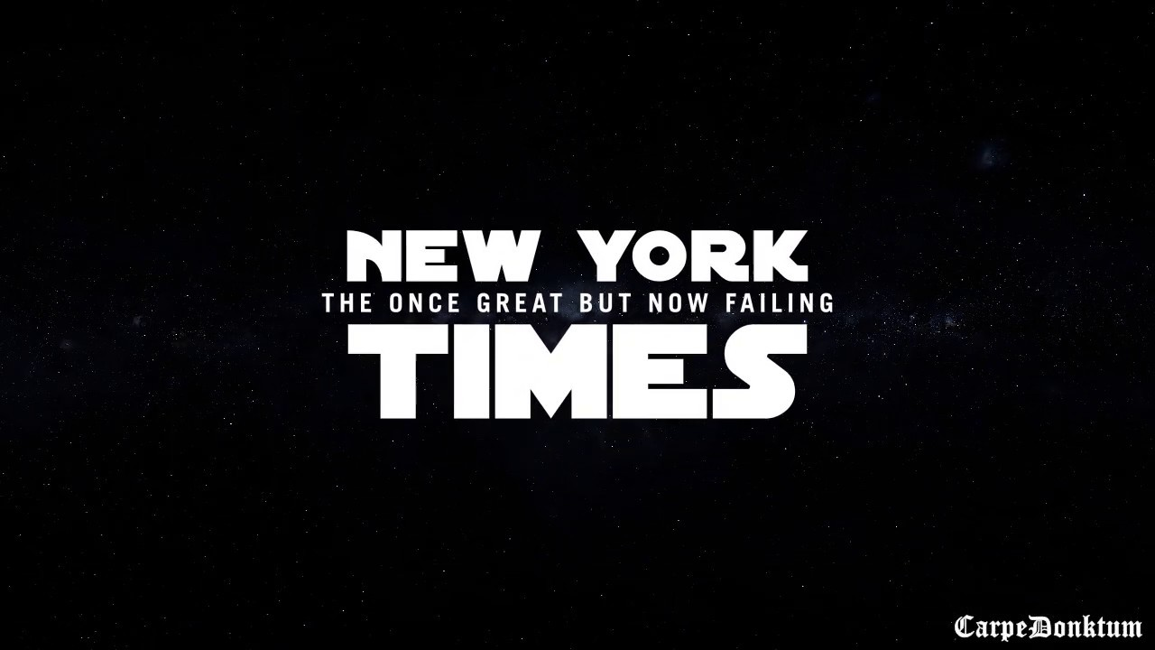 Carpe Donktum My Response to the NYT Star Wars Meme